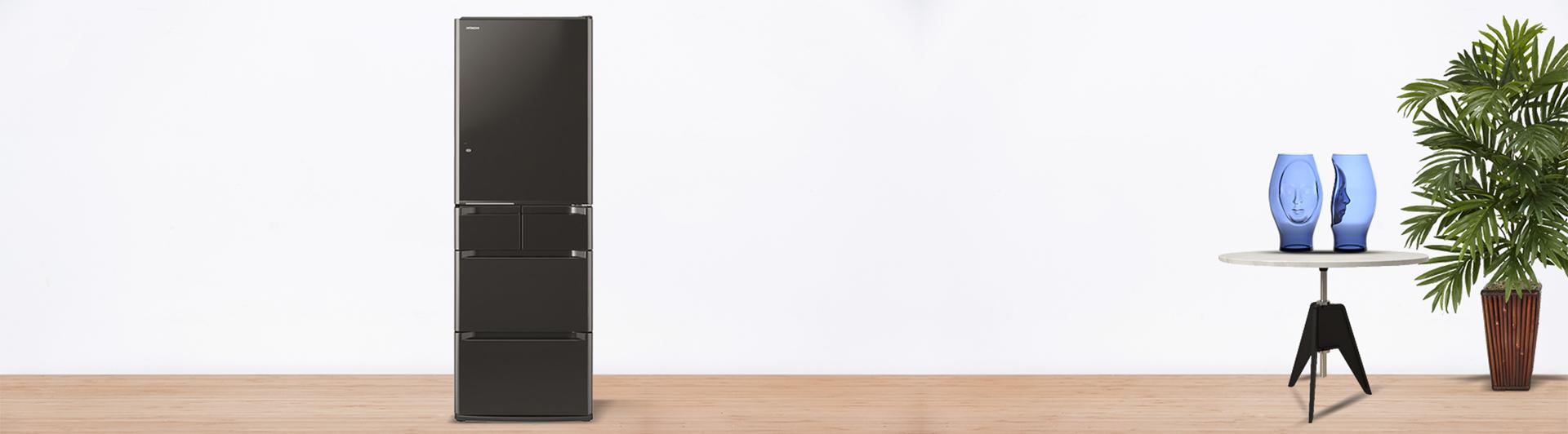 Tủ lạnh Hitachi R-E5000V 529 lít nâu bán trả góp tại Nguyễn Kim