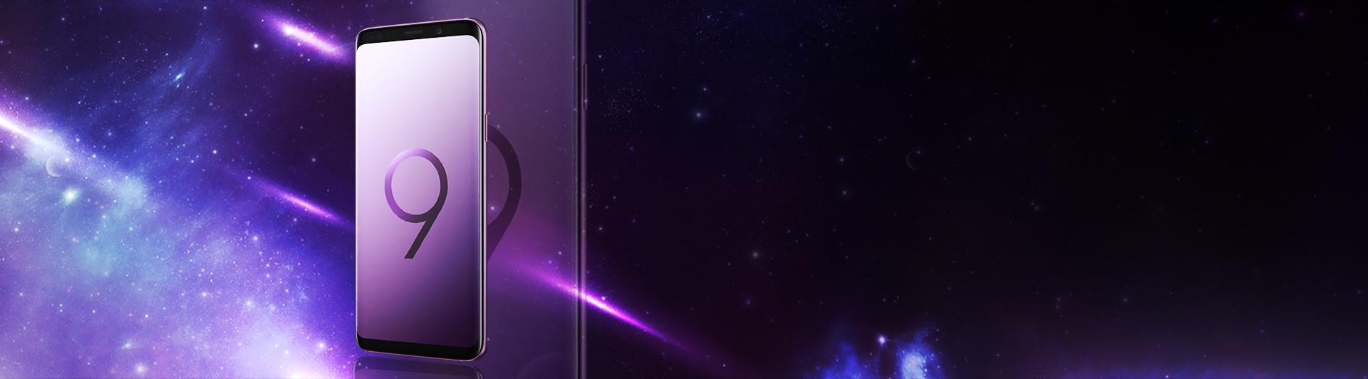 Điện thoại Samsung Galaxy S9 màu tím  màn hình vô cực