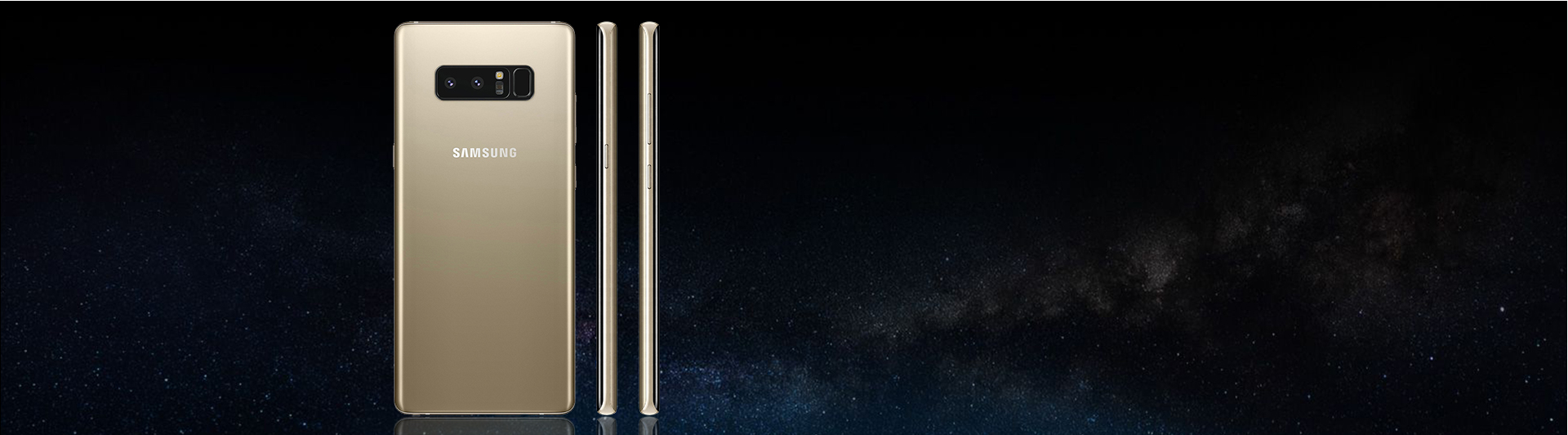 """Điện thoại Samsung Galaxy Note8 vàng màn hình 6.3"""" Super AMOLED"""