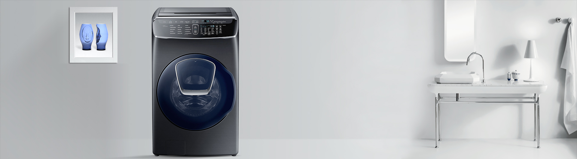 Máy giặt Samsung 21KG WR24M9960KV/SV giá hấp dẫn tại Nguyễn Kim