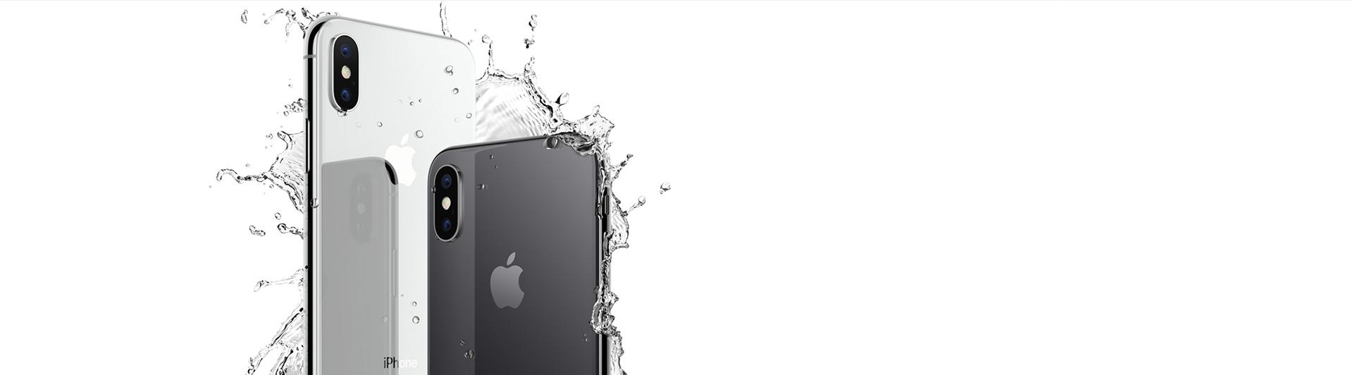 Điện thoại di động iPhone X 256GB Silver màn hình OLED 5.8 inch siêu nét