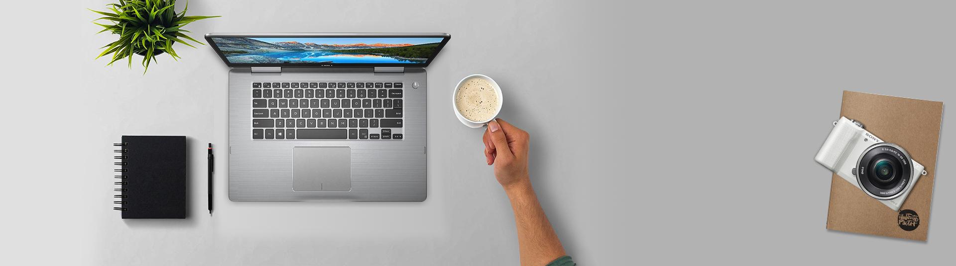 Máy tính xách tay Dell Inspiron 13 T7373A màn hình xoay 360 độ độc đáo