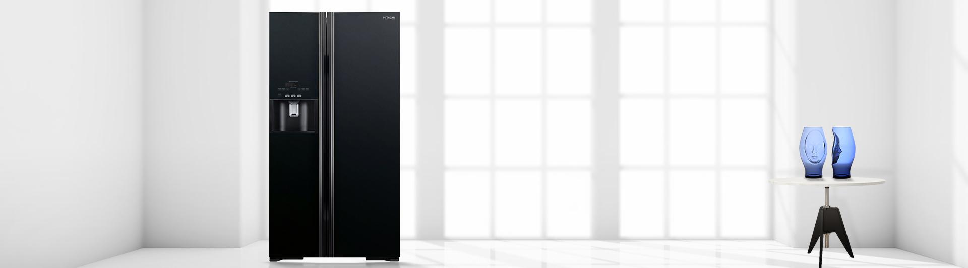 Tủ lạnh Hitachi R-S700GPGV2 589 lít đen giá tốt tại Nguyễn Kim