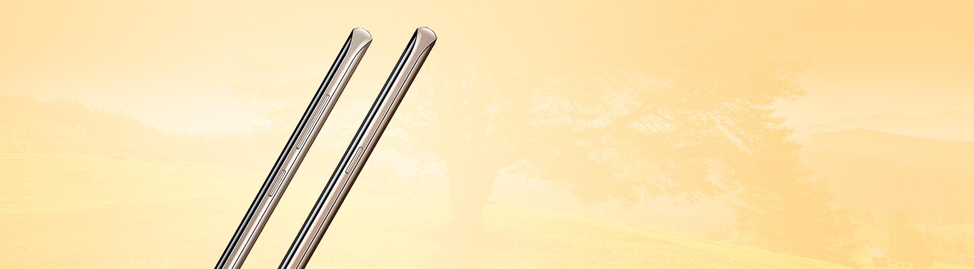 Điện thoại Samsung Galaxy S8 Plus vàng nhiều tính năng thông minh