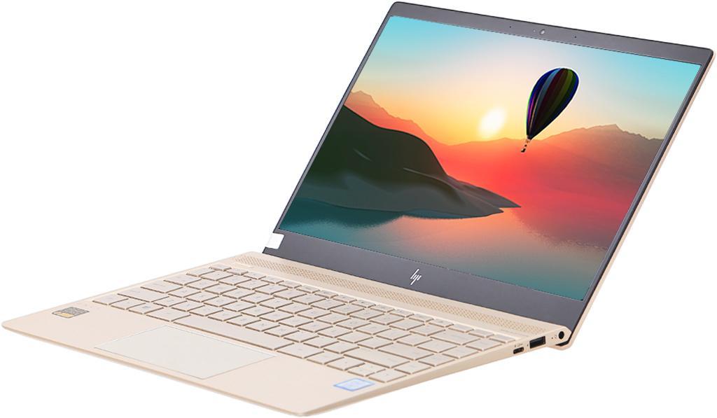Laptop HP Envy 13 AD160TU - 3MR77PA góc trên xuống