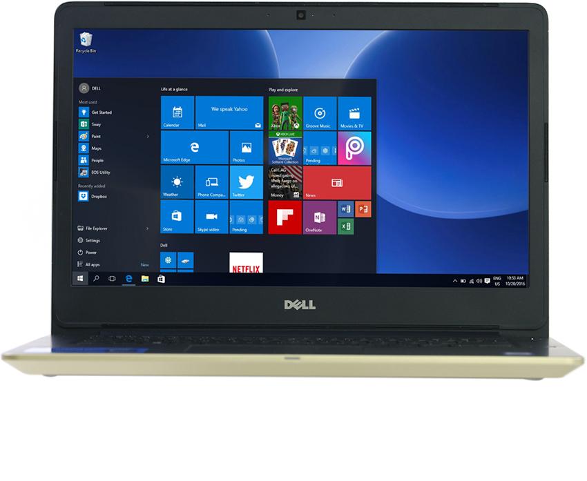 Laptop Dell Vostro V5468A - P75G001 thiết kế chắc chắn, mỏng nhẹ
