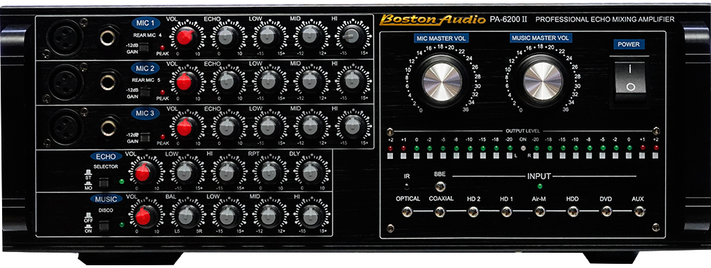 AMPLY BOSTON AUDIO PA-6200 II