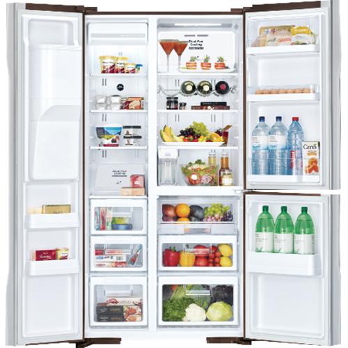 Tủ lạnh Hitachi R-S700GPGV2 (GBK) có công nghệ inverter giúp tiết kiệm điện