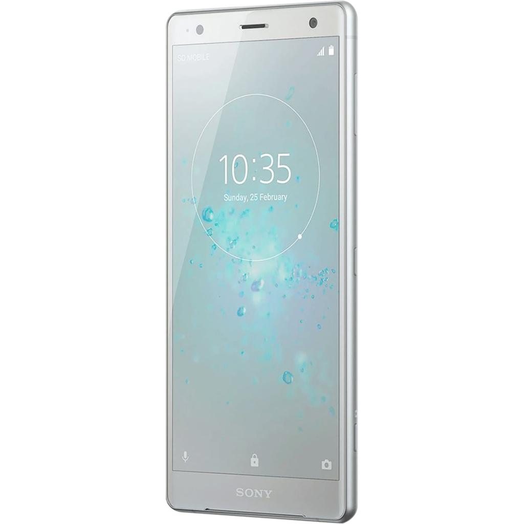 Điện thoại Sony Xperia XZ2 màu bạc màn hình tràn viền