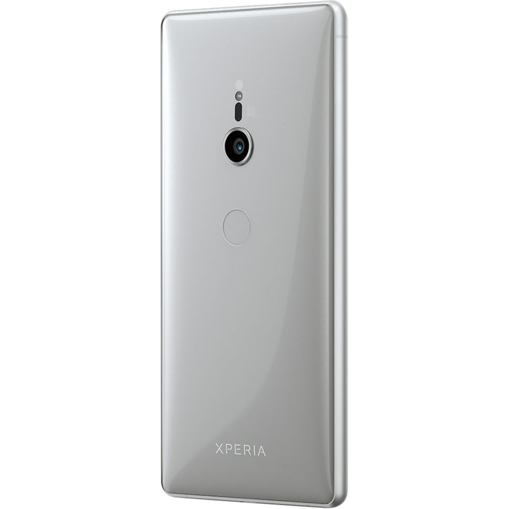 Điện thoại Sony Xperia XZ2 màu bạc thiết kế sang trọng
