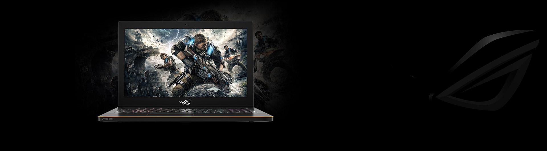 Laptop Asus ROG Zephyrus M GM501GS-EI004T mặt trước