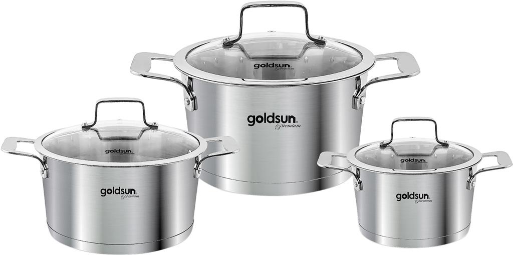 BỘ NỒI INOX GOLDSUN GD26-3506SG