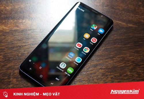 Trải nghiệm Edge Screen của Galaxy S9 ngay trên điện thoại của bạn