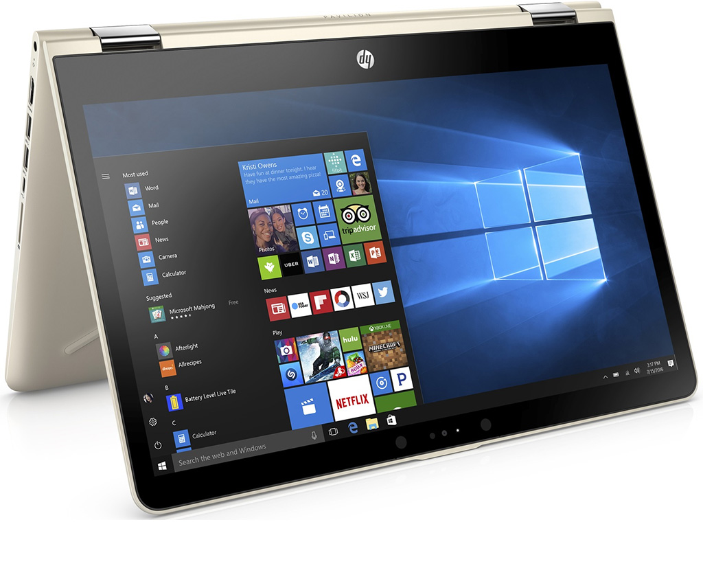 Laptop Hp Pavilion X360 14-Ba129tu  3mr85pa  Core I5-8250u 4g 1t Fhd Touch Win 10 -Xoay 360
