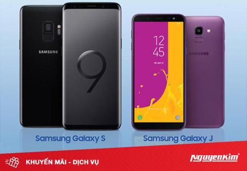 Điện thoại Samsung giảm giá 3 ngày cuối tuần