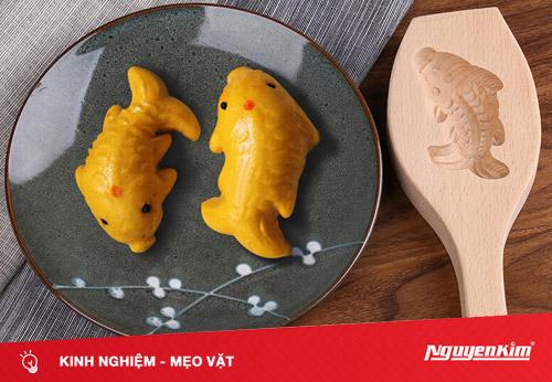 Làm bánh nướng hình cá