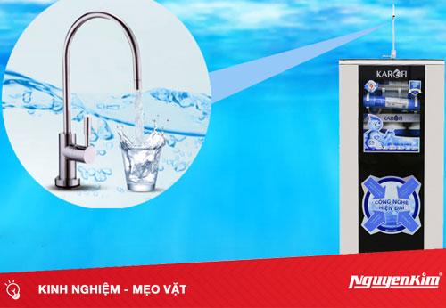 Các vấn đề thường gặp trên vòi nước của máy lọc nước