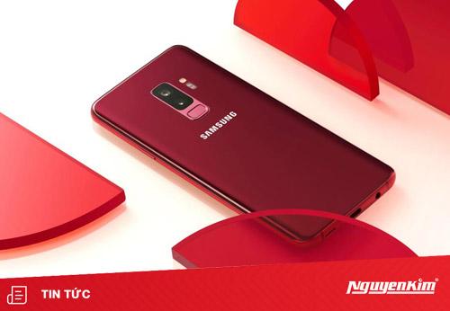 Galaxy S9 Plus Đỏ Burgundy - phiên bản mới đầy quyến rũ