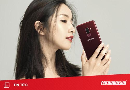 Samsung chính thức trình làng Galaxy S9+ Vang Đỏ