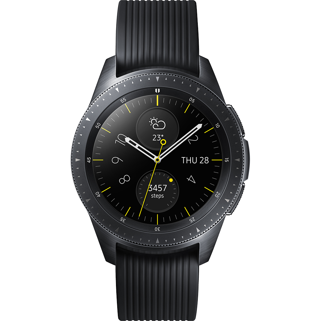 SAMSUNG GALAXY WATCH 42MM SM-R810 MIDNIGHT BLACK - 3637508 , 77912 , 61_77912 , 6990000 , SAMSUNG-GALAXY-WATCH-42MM-SM-R810-MIDNIGHT-BLACK-61_77912 , nguyenkim.com , SAMSUNG GALAXY WATCH 42MM SM-R810 MIDNIGHT BLACK