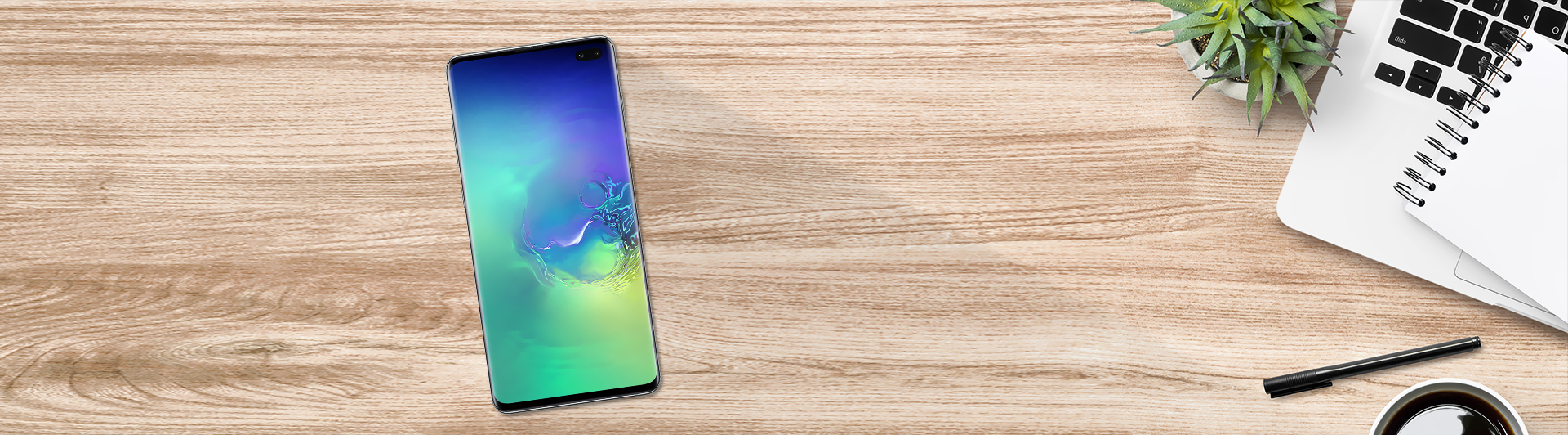 SAMSUNG GALAXY S10 PLUS 128GB XANH