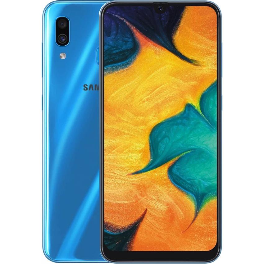 Điện thoại Samsung Galaxy A30 64GB xanh