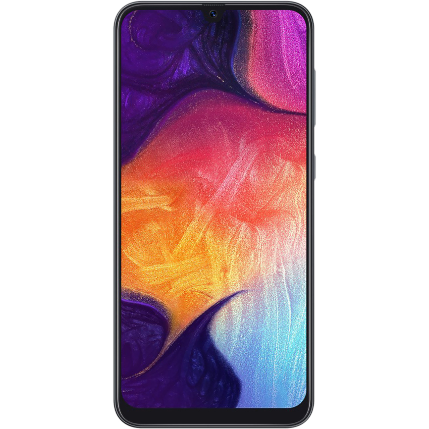 Điện thoại Samsung Galaxy A50 đen 64GB