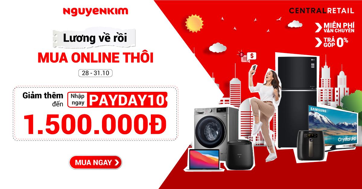 Đại Tiệc Sale, Săn Deal Cuối Tuần, Sale Đến Nửa Giá | Nguyễn Kim