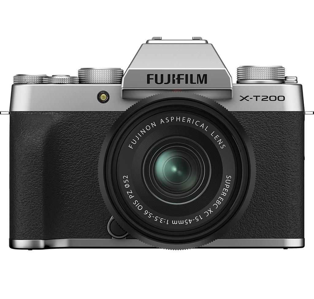Máy ảnh Fujifilm X-T200/XC15-45MM Bạc – Hàng điện tử tiêu dùng