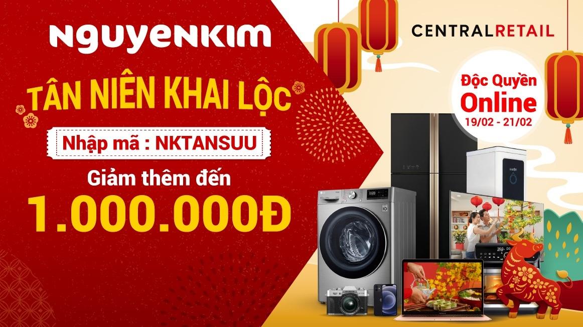Tân Niên Khai Lộc - Lì xì đến 1.000.000Đ từ ngày 19/02 - 21/02/2021