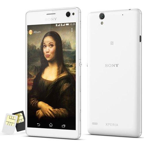 điện thoại chụp ảnh tự sướng Xperia C4 Dual