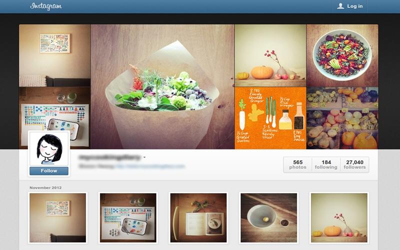 Instagram trên nền Web cũng không kém cạnh so với bản trên điện thoại