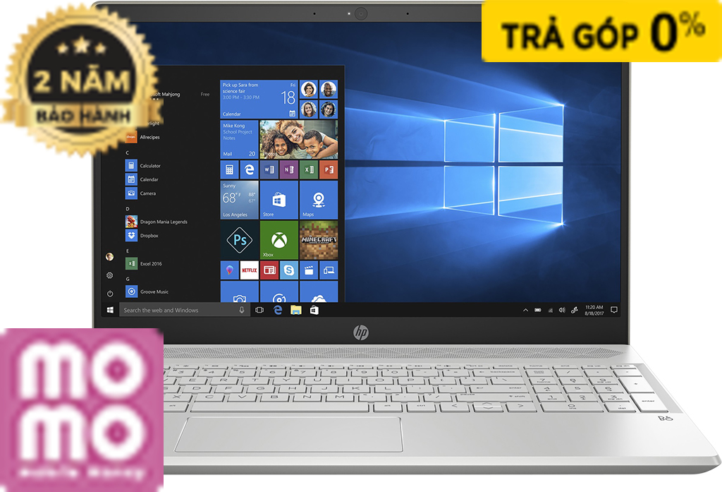LAPTOP HP PAVILION 15-CS1044TX (5JL26PA)