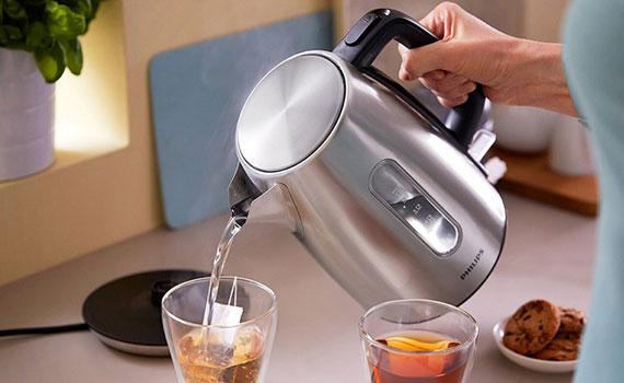 Bình đun Philips 1.7 lít HD9357đun nước nhanh sôi