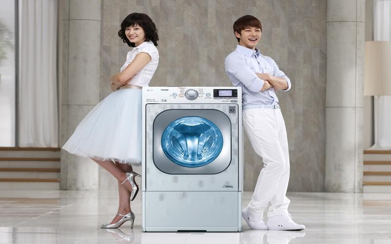 Đây thường là dòng máy giặt cao cấp của các hãng lớn