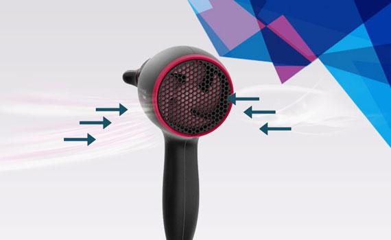 Sấy tóc Philips BHD029/00 kiểm soát tối đa