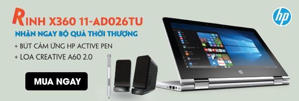 HP PAVILION X360 11-AD026TU