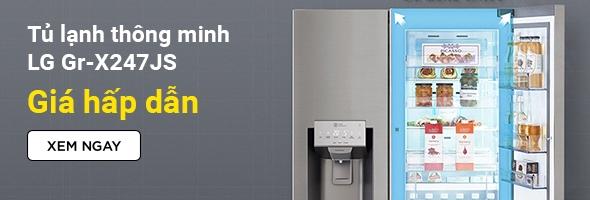 Tủ lạnh Instaview Door-in-Door LG GR-X247JS