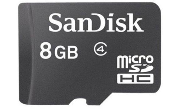 Thẻ nhớ Sandisk MicroSDHC4 8GB giá tốt ở nguyenkim.com