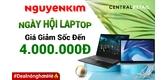 Ngày Hội Laptop Bùng Nổ Với Nhiều Cực Phẩm Giảm Giá Đến 4.000.000Đ