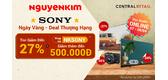 Deal Thượng Hạng Từ Thương Hiệu Vàng Sony