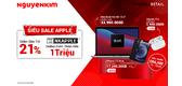 Loạt Siêu Sale Apple Đang Đổ Bộ Với Ưu Đãi Bùng Nổ