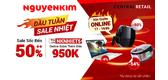 Hot Shocking Deal - Nguyễn Kim Khuyến Mãi Bùng Nhiệt!