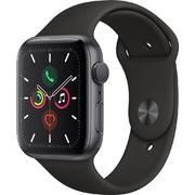 Apple Watch S5 GPS 40mm Vỏ nhôm Dây cao su Đen