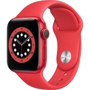 Apple Watch S6 GPS 40mm vỏ nhôm dây cao su Đỏ