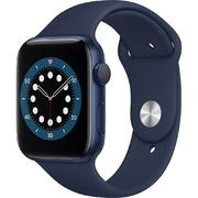 Apple Watch S6 GPS 44mm vỏ nhôm dây cao su Xanh