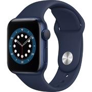 Apple Watch S6 GPS 40mm Vỏ nhôm Dây cao su Xanh