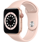 Apple Watch S6 LTE 44mm Vỏ nhôm Dây cao su Hồng