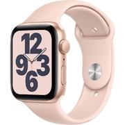 Apple Watch SE GPS 44mm Vỏ nhôm Dây cao su Hồng
