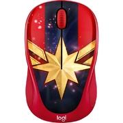 Chuột không dây Logitech M238 Đỏ Xanh (Captain Marvel)